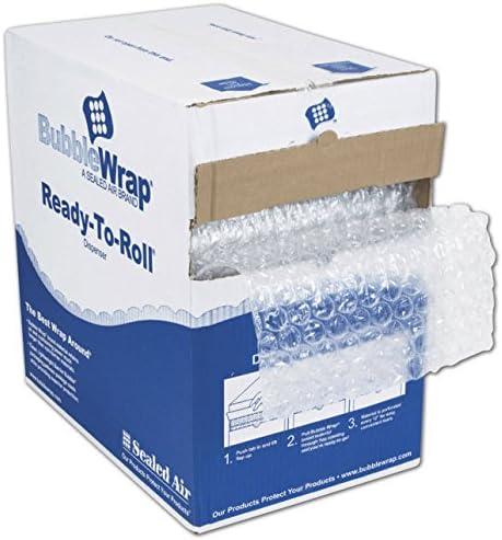 EGP Clear Bubble Film in Dispenser Box 12 x 100