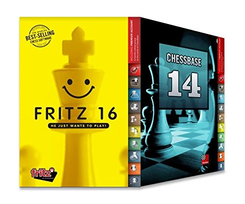 Fritz 16 + CHESSBASE 14 MEGA Bundle Chess Software by The House of Staunton