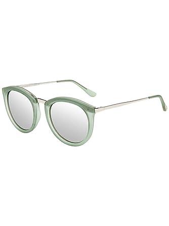 425bda17cb Le Specs Women s No Smirking Olive-Silver Sunglasses in Size One Size Green