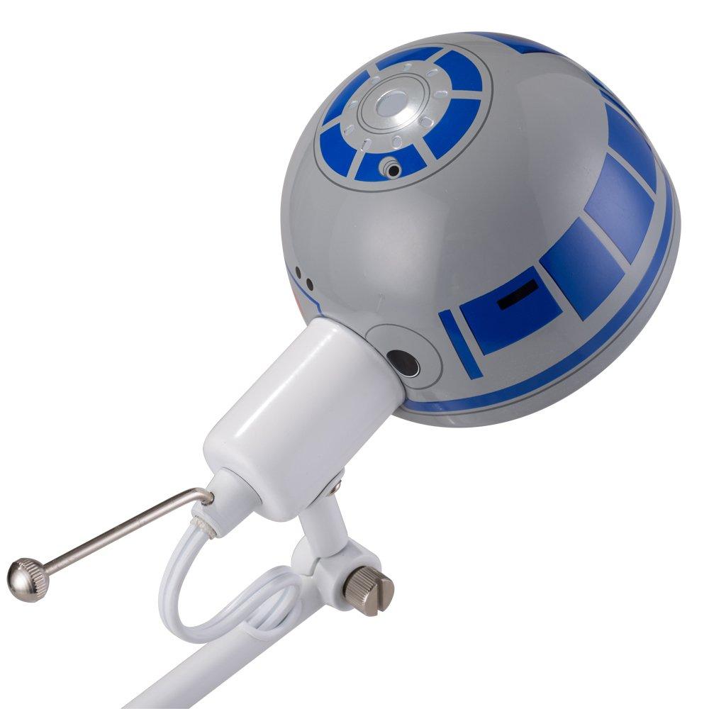 Disney Star Wars Desk Lamp, White/Blue, 17'' by Disney (Image #3)