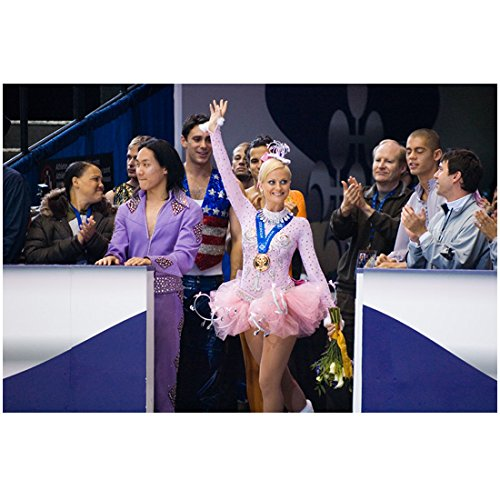 [Blades of Glory 8 inch x 10 inch PHOTOGRAPH Amy Poehler Waving to Fans Pink Costume kn] (Fan Costumes)