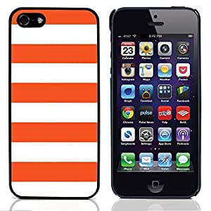 Graphic4You Color Stripes Pattern Design Hard Case Cover for Apple iPhone 5 & 5S (Orange) wangjiang maoyi