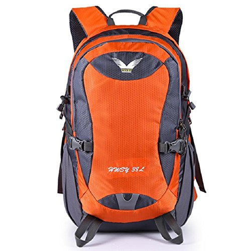 ZC&J Mochila al aire libre, impermeable anti-rayaduras práctico resistente al desgaste de alta calidad al aire libre mochila deportiva, multiusos hombres y mujeres mochila de viaje universal,E,38L B