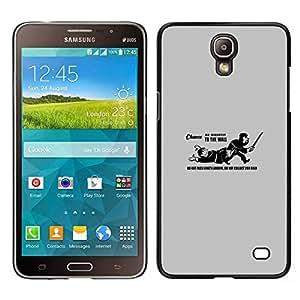 A-type Arte & diseño plástico duro Fundas Cover Cubre Hard Case Cover para Samsung Galaxy Mega 2 (No pase Landing Funn Cita del Rey)