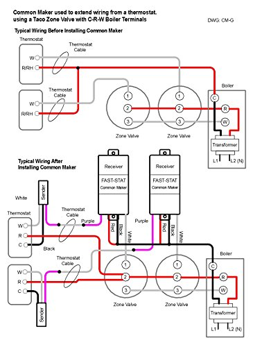 515gWUqZ0QL fast stat common maker thermostat wire extender (adds a common Common Ground Wiring Diagram at aneh.co