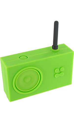 Lexon Tykho Rubber Radio Green