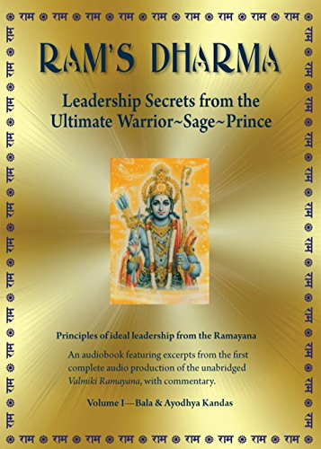 Ram's Dharma: Leadership Secrets From the Ultimate Warrior~Sage~Prince: Michael Sternfeld, Michael Sternfeld: 9780982271667: Amazon.com: Books
