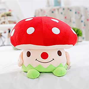 Memorecool cute mushroom plush children step for Small stuffed chairs