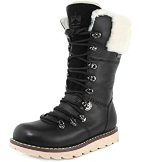 Royal Canadian Womens Louise Black Boot
