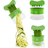 Auwer Spiral Vegetable Fruit Slicer Cutter Grater Twister Peeler Kitchen Gadgets Tools