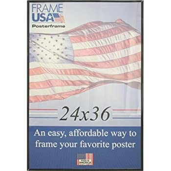 this item 24 x 36 black poster frame wplexi glass and hardboard backing