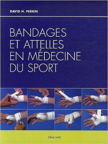 Bandages et attelles en médecine du sport