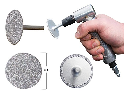Innovative Products of America IPA 3-in-1 Diamond Grinding Wheel, 2'' Diameter by Innovative Products Of America