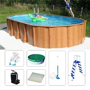 Acero Pared Pool gigazon de woodstyle 5, 40 x 3, 60 x 1, 32 ...