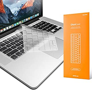 UPPERCASE Premium Ultra Thin Keyboard Protector for MacBook Pro 13 15 17 (with or Without Retina Display, 2015 or Older Version) Old MacBook Air 13 (2010-2017) Only