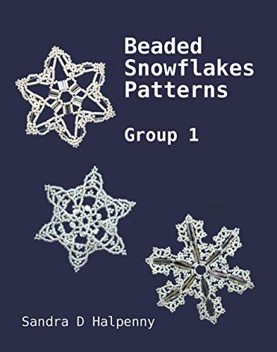 Beaded Snowflake Patterns - Group 1 (Beaded Snowflake -
