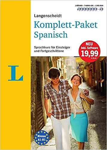 e175213a6ff24 Langenscheidt Komplett-Paket Spanisch - Sprachkurs mit 2 Büchern
