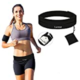 Myang Running Belt,Outdoor Waterproof Reflective Waist Pack for Women and Men Runner,Adjustable Running Pouch for iPhone X 6 7 8 Plus Samsung Galaxy Note s8 s7 s6 Plus