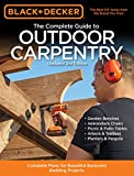 simple landscaping ideas Black & Decker The Complete Guide to Outdoor Carpentry Updated 3rd Edition: Complete Plans for Beautiful Backyard Building Projects (Black & Decker Complete Guide)