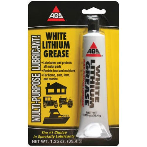 Ags Wl 1H Wht Lithium Grease  1 25 Oz