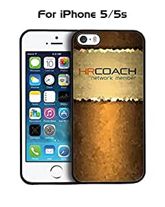 Cool Funda Case for Iphone 5 / 5s Brand Logo Coach Drop Proof Rugged Anti Slip Durable High Impact Extra Slim