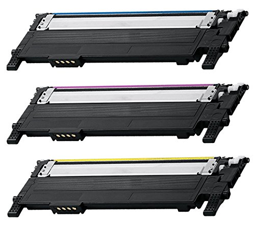 3 Pack CLT-406S CMY Color Combo Toner Cartridge for Samsung Compatible with: CLX 3300 3305 SL C460 410 CLP 360 365 Xpress C460 C410