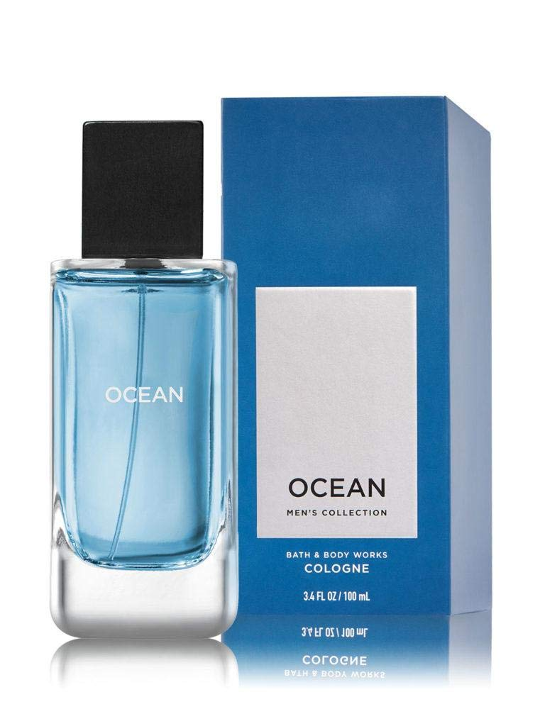 Bath and Body Works Ocean Cologne Men's Collection New Packaging 3.4 Ounce