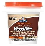 Elmer's Carpenter's Color Change Wood Filler, 4