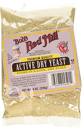 Bob's Red Mill Gluten Free Active Dry Yeast, 8-ounce
