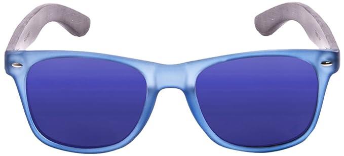 PALOALTO - Gafas de sol Nob Hill azul transparente, bambú ...