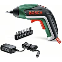 Bosch Akkuschrauber IXO (5. Generation, 10 Bits, USB Ladegerät, Dose, 3,6 Volt, 1,5 Ah)