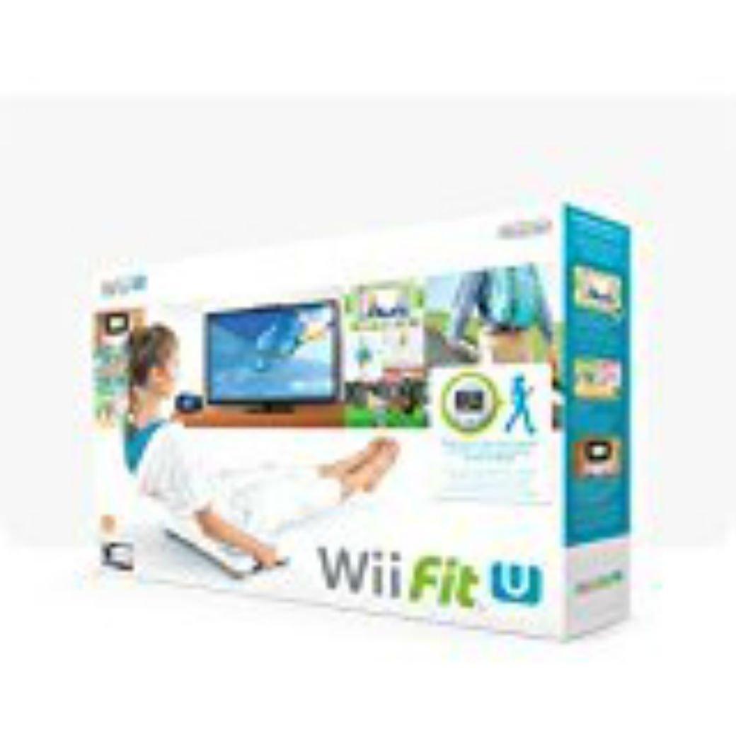 Wii Fit U + Fit Meter + Wii Balance Board - [Nintendo Wii U]