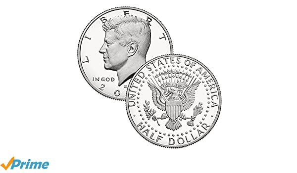 2017S,2018S,2019S Kennedy proof half dollars