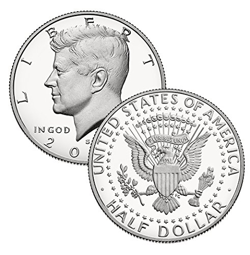 - 2008-S CLAD Proof Kennedy Half Dollar