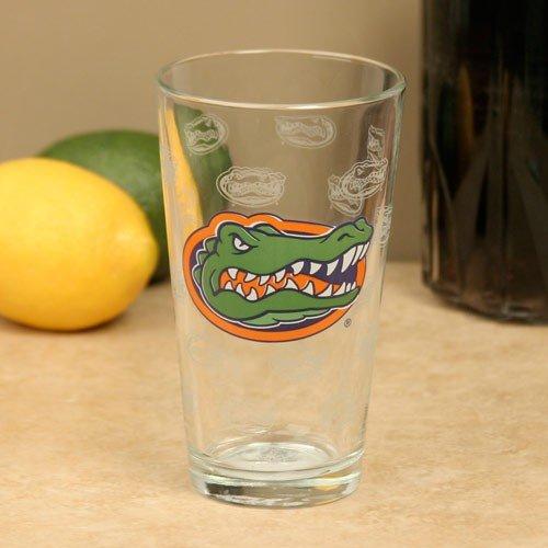 (NCAA Florida Gators 16oz. Satin Etch Pint Glass)