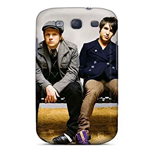Scratch Resistant Hard Phone Covers For Samsung Galaxy S3 With Customized Lifelike Fall Out Boy Band FOB Skin TimeaJoyce