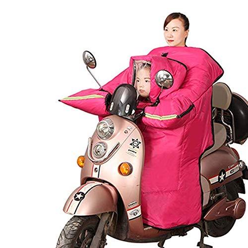 Resistente Pieza Rose Cálido Impermeable Y Fría Invernal Al Eléctricos xxl Parabrisas Eléctrico Una Gljy Engrosamiento Poncho Viento De Automóviles pink Para Ropa Protegido qptxBw7Z