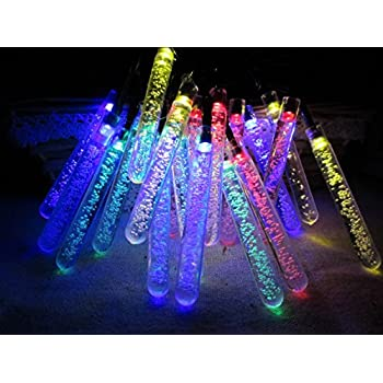 Mt tech solar powered outdoor string fairy lights 5m 20 multi color mt tech solar powered outdoor string fairy lights 5m 20 multi color icicle for garden patio aloadofball Images