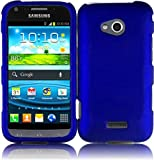 For Samsung©Galaxy Victory 4G LTE L300 Hard Cover Case Blue