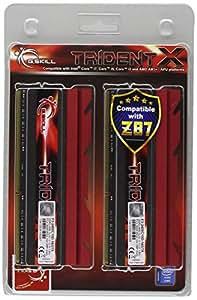 G.Skill 16GB (2 x 8GB) DDR3 PC3-19200 2400MHz TridentX Series CL10 (10-12-12-31) Dual Channel kit (F3-2400C10D-16GTX)