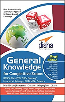 Book General Knowledge for Competitive Exams - UPSC/State PCS/SSC/Banking/Insurance/Railways/BBA/MBA/Defence