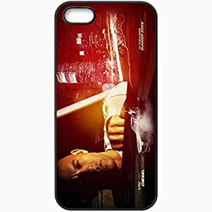 Personalized iPhone 5 5S Cell phone Case/Cover Skin F Fast and Furious 4 2009 movie 11660 Black by icecream design