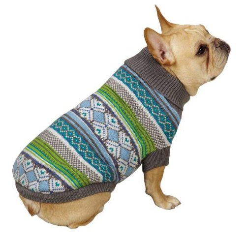 East Side Collection Northern Lights Sweater for Dogs, 12