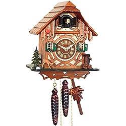 Alexandor Taron Home Decor Engstler Weight-driven Full Size Cuckoo Clock - 9H x 8.5W x 5.5D