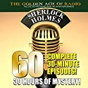 The New Adventures of Sherlock Holmes: 60-Episode Set Radio/TV Program by Arthur Conan Doyle, PDQ AudioWorks Narrated by Basil Rathbone