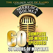 The New Adventures of Sherlock Holmes: 60-Episode Set Radio/TV Program by PDQ AudioWorks, Arthur Conan Doyle Narrated by Basil Rathbone