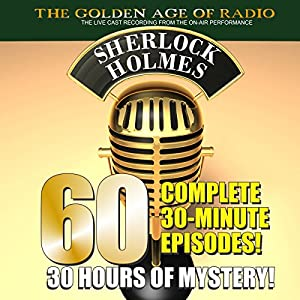 The New Adventures of Sherlock Holmes: 60-Episode Set Radio/TV