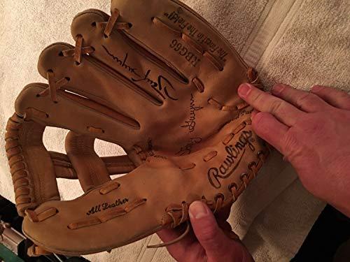 Vintage Tony Gwynn Autographed Signed Memorabilia Vintage Rawlings Rb666 Baseball Glove Coa