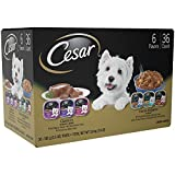 CESAR CANINE CUISINE and HOME DELIGHTS Wet Dog Food Club Variety Pack, (Pack of 36) 3.5 oz. Trays Review