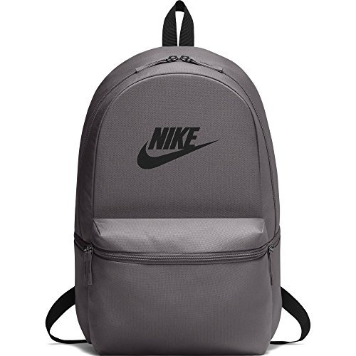 - NIKE unisex-adult Heritage Backpack, Thunder Grey/Black/Black, One Size
